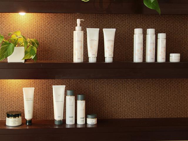 美容商材・化粧品への知識習得