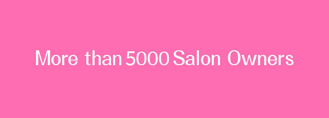 独立開業サロン5000店舗以上の実績